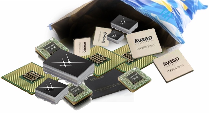 Are Toshiba's Chips In The Bag for Broadcom?