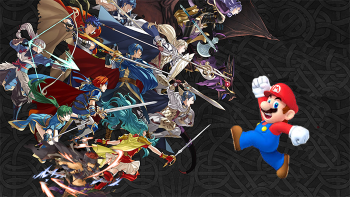 Fire Emblem Heroes One-Ups Super Mario Run