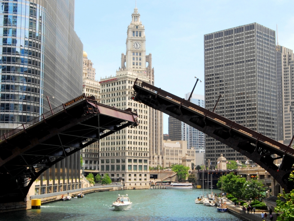 Chicago Bridge Is Falling Down